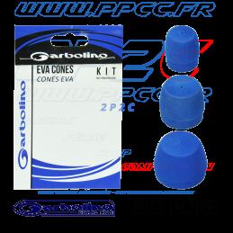 GARBOLINO - PACK 3 CONES EVA BIG BORE POUR BRIN 4-5 et 6 - G - 001