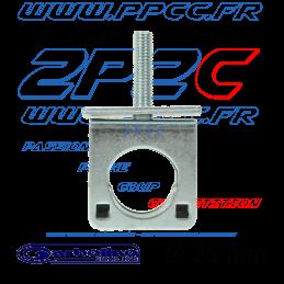 GARBOLINO - BLOC DE SERRAGE PIED D25 (VIS M8/ARMATURE METALIQUE/INSERT PLASTIQUE) - G - 003