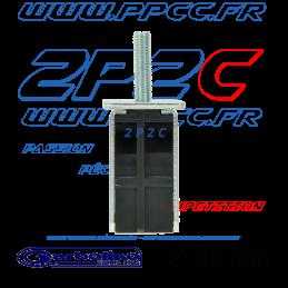 GARBOLINO - BLOC DE SERRAGE PIED D36 (VIS M8/ARMATURE METALIQUE/INSERT PLASTIQUE) - G - 004