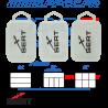 SERT - BOITE DE RANGEMENT PLASTIQUE TRANSPARENT TAILLE SMALL - G - 002