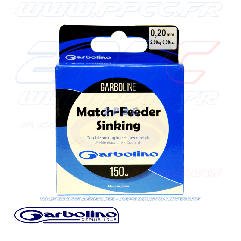 GARBOLINO - GARBOLINE MATCH FEEDER SINKING