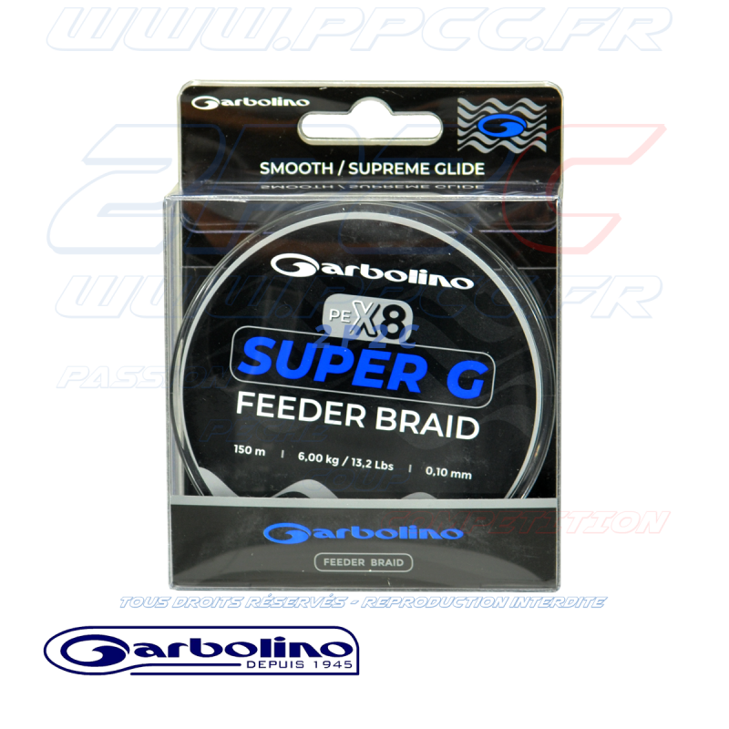Garbolino - SUPER G FEEDER BRAID - TRESSE FEEDER 8 BRINS