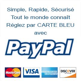 Réglez en CB par Paypal